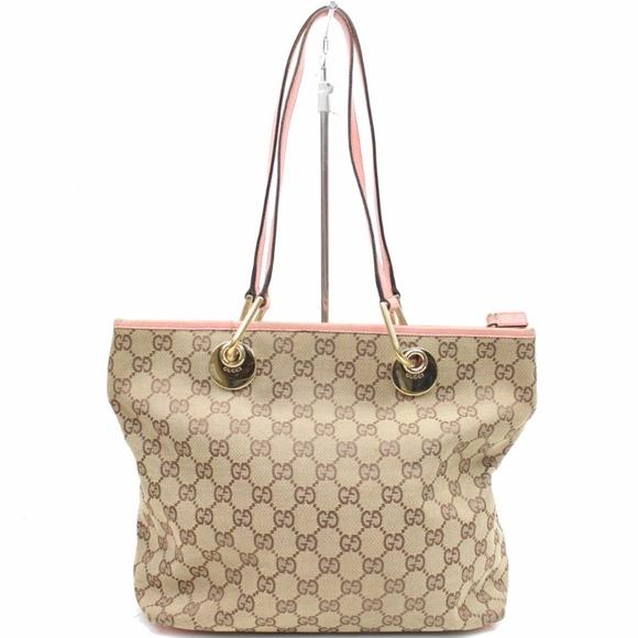 762be2076831 Gucci Bags | Eclipse Tote Pink Trim | Poshmark
